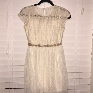 SEQUIN HEARTS flower girl/ bridal  dress